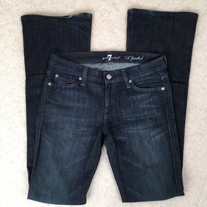 7 For All Mankind Wide Leg A Pocket Jeans